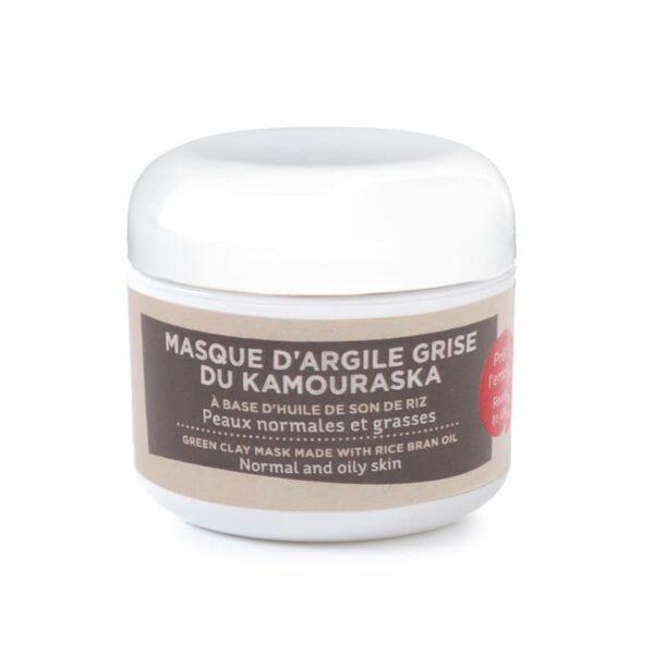 Masque à l'argile grise Kamouraska - Quai des Bulles